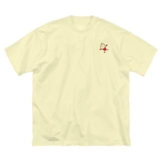 スケートくん Big silhouette T-shirts