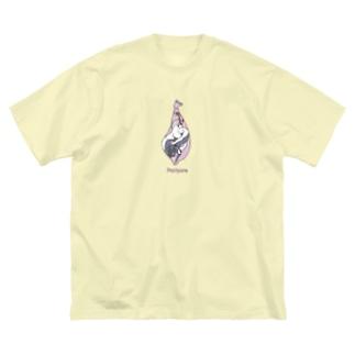 Postpone Big silhouette T-shirts