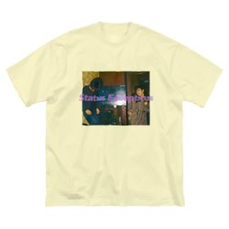 #いのちをけずったな Big silhouette T-shirts