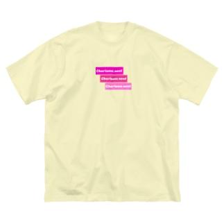 Charisma neet ピンク3ボックス Big silhouette T-shirts