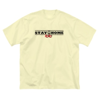 STAY HOME MEGANE 2020 Big silhouette T-shirts