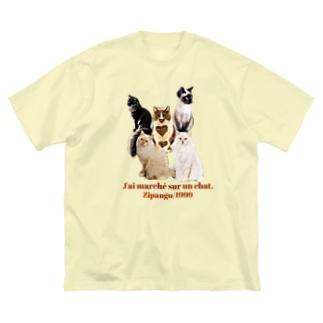 J'ai marché sur un chat Big silhouette T-shirts