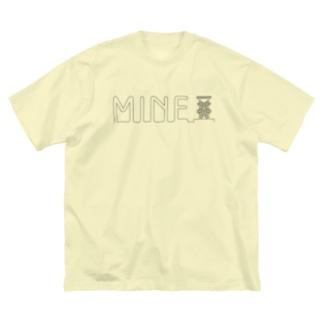 わたしのコールマイン Big silhouette T-shirts