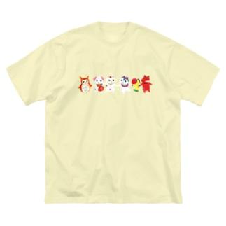TOYTOY<おもちゃのダンス> Big silhouette T-shirts