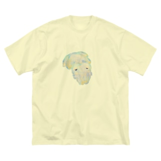 おねむイカ? Big silhouette T-shirts