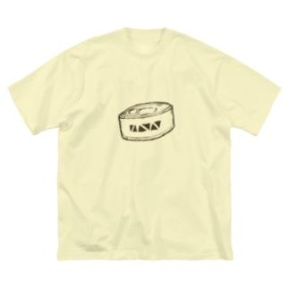 謎の缶詰 Big Silhouette T-Shirt