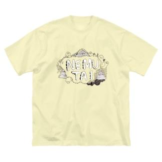 NEMUTAI Big silhouette T-shirts