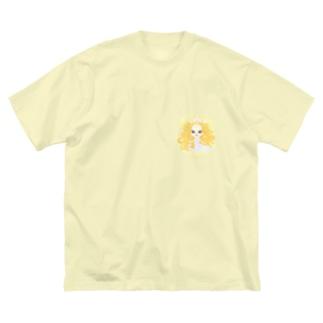 Venus(金星人) Big silhouette T-shirts