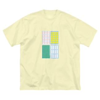 label sheets Big silhouette T-shirts