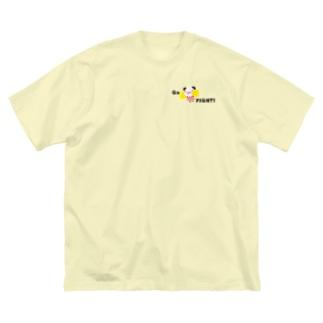 チア★ぱんだ Big silhouette T-shirts