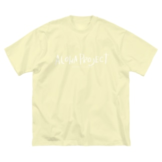 手書きAlohaProjectLogo Dear kana, I love you. Big silhouette T-shirts