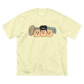 なかよし♡ Big silhouette T-shirts