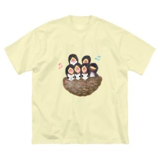 ♬コーラス♬ Big silhouette T-shirts