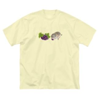 リチャードソンジリス・grape Big Silhouette T-Shirt