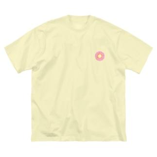 僕の頭の中 DONUT Big silhouette T-shirts
