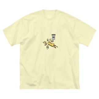 おくされ様 Big silhouette T-shirts