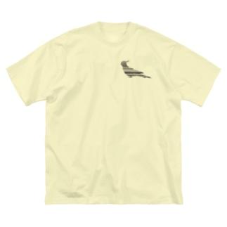 オカメインコ+ Big silhouette T-shirts