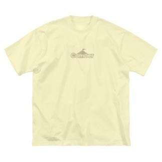 Camper by ソトリスト Big silhouette T-shirts