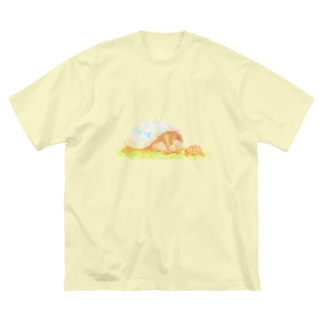 キミにあげる。 Big silhouette T-shirts