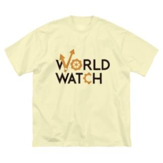 WORLD WATCH Big silhouette T-shirts