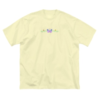 Butterfly Big silhouette T-shirts