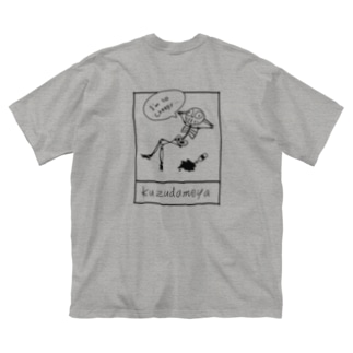 I'm so creepy.シリーズ-Black ink(数色) Big silhouette T-shirts