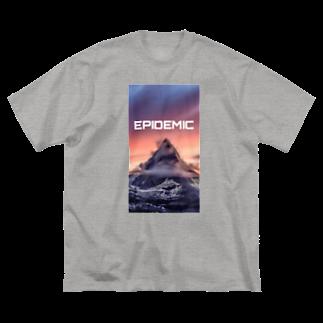 EPIDEMICのEPIDEMIC Mountain Big silhouette T-shirts