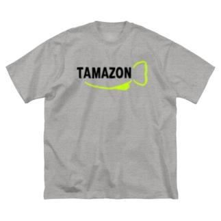タマゾーン Big silhouette T-shirts