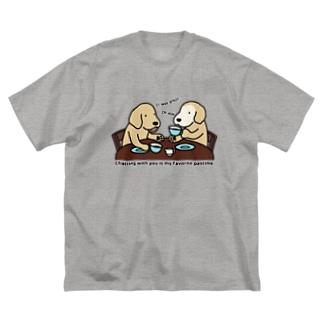 くつろぎタイム Big Silhouette T-Shirt