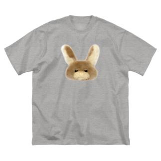 むぎちゃん Big silhouette T-shirts