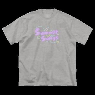 ltwincallのサマー Big silhouette T-shirts