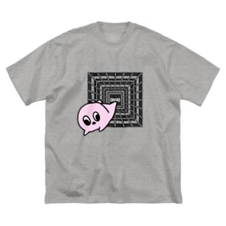 おろろの巣窟 Big silhouette T-shirts