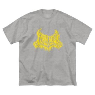 CORN SOUP (yellow) Big silhouette T-shirts