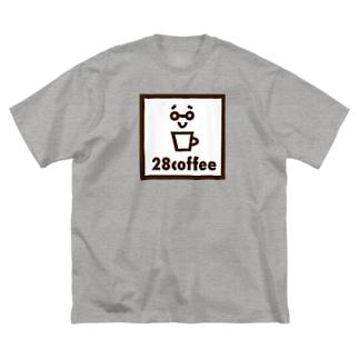 28coffee Big silhouette T-shirts