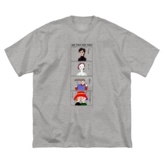 月末 Big silhouette T-shirts