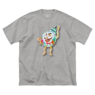 地球ダンディズム Big silhouette T-shirts