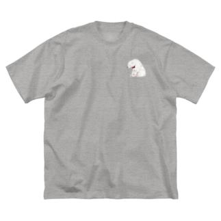 Shirokuma Big silhouette T-shirts