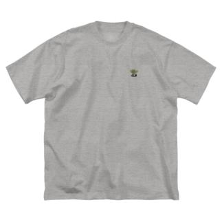 アデニウム アラビカム Big silhouette T-shirts