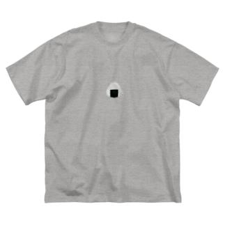 おにぎり2020(控えめバージョン) Big silhouette T-shirts