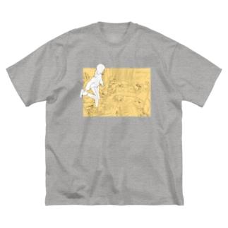 実家T Big silhouette T-shirts