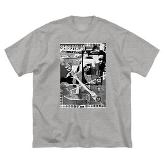 穴IB Big silhouette T-shirts
