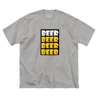 BEER Big silhouette T-shirts