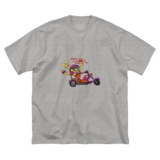 手描き🎨TAROのPEACE Big silhouette T-shirts