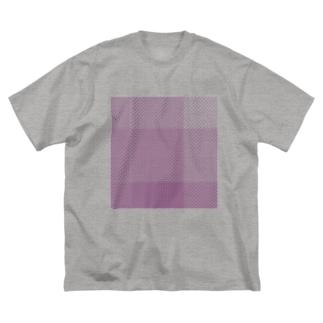 限定カラー 懐かしパープルもしくはどどめ色 Big silhouette T-shirts