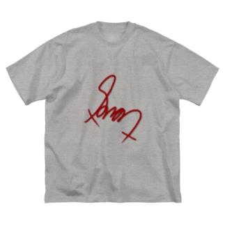 すゆのてぃー Big silhouette T-shirts