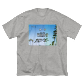 JQKM-TV 提供クレジット Big silhouette T-shirts