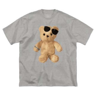 Teddy with Glasses Big silhouette T-shirts