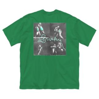 210723 未来 Big silhouette T-shirts