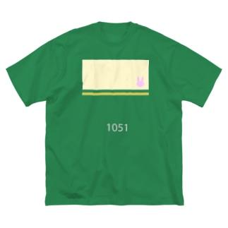 江ノ電1051っぽくて青春ブタ野郎はバニーガール先輩の夢を見ないっぽい Big silhouette T-shirts