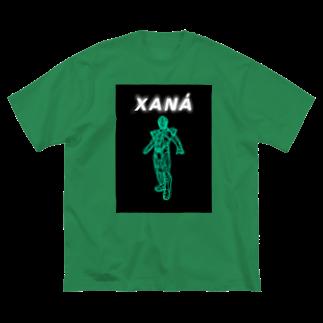 りんたのザナ Big silhouette T-shirts